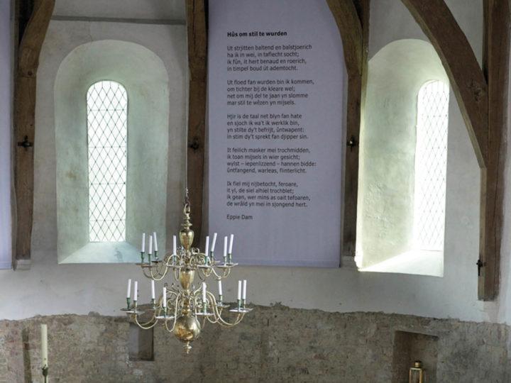 Plek van onthaasting: kerk in Jorwerd