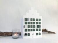 Essencio Adventskalender A4 luikje openen kaars licht - ritueel voor bezinning in december 1