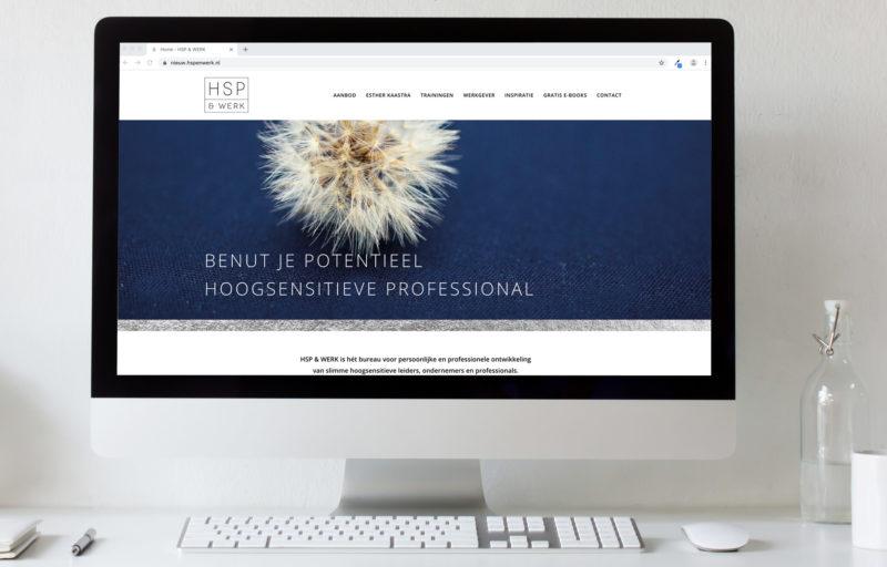 Essencio Branding portfolio HSP en werk - Website design en realisatie