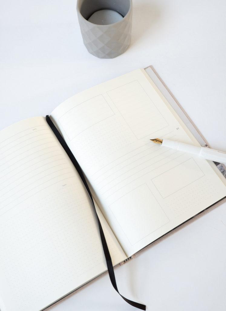 Essencio - Binnenkant creatieve kaders Quote To Note Book - stijlvol luxe notitieboek om quotes te bewaren