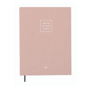 Quote To Note Book - Essencio - Notes to live by