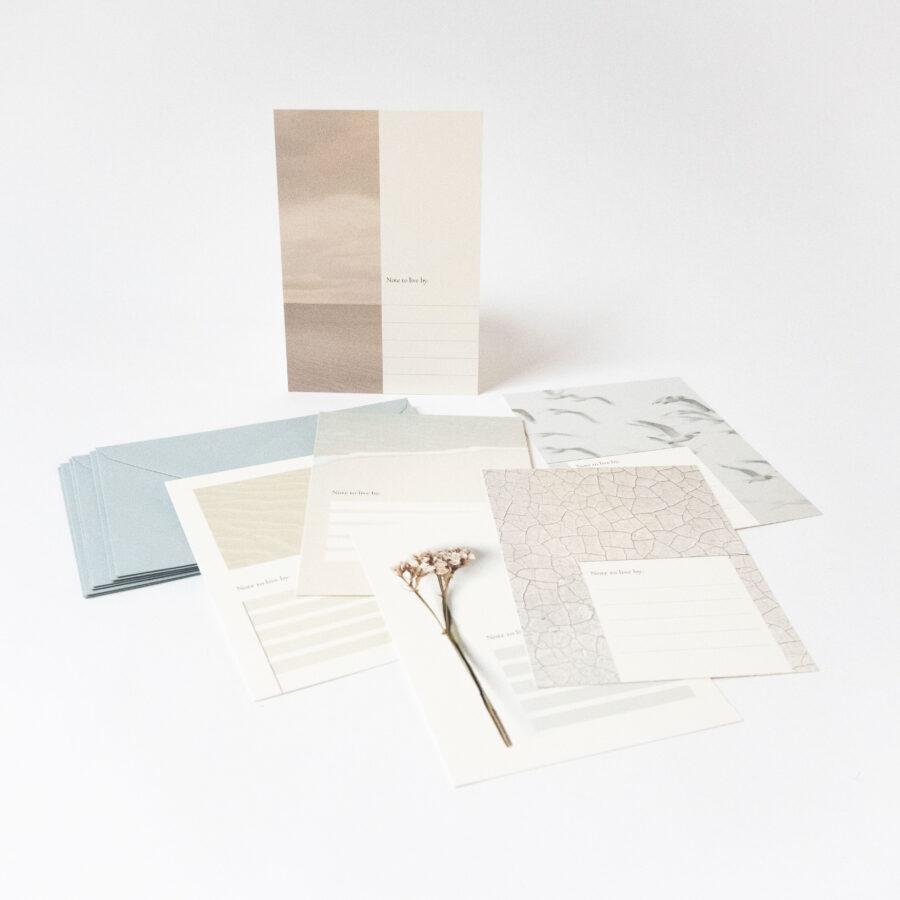 Essencio Note To Self kaartenset blanco affirmatie kaarten Persoonlijk overzicht Notes to live by