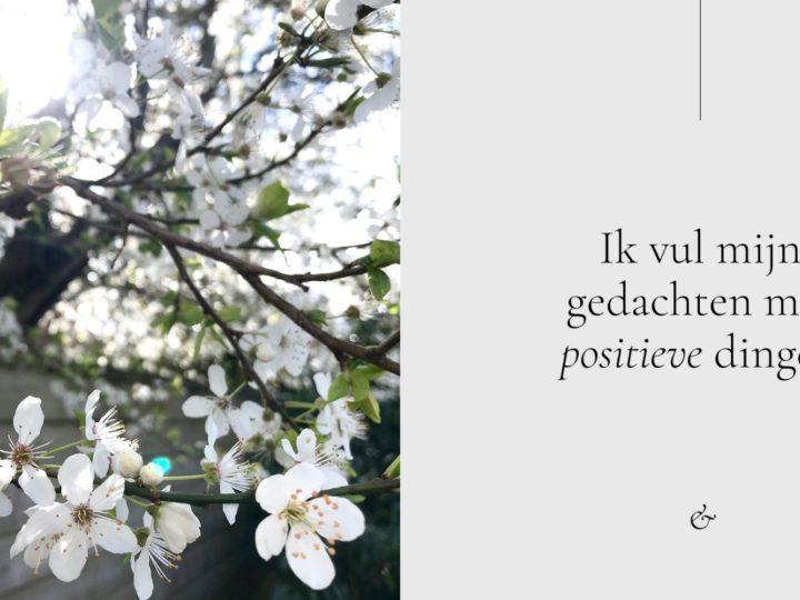 Positief denken in crisistijd: de lente is het grootste geschenk