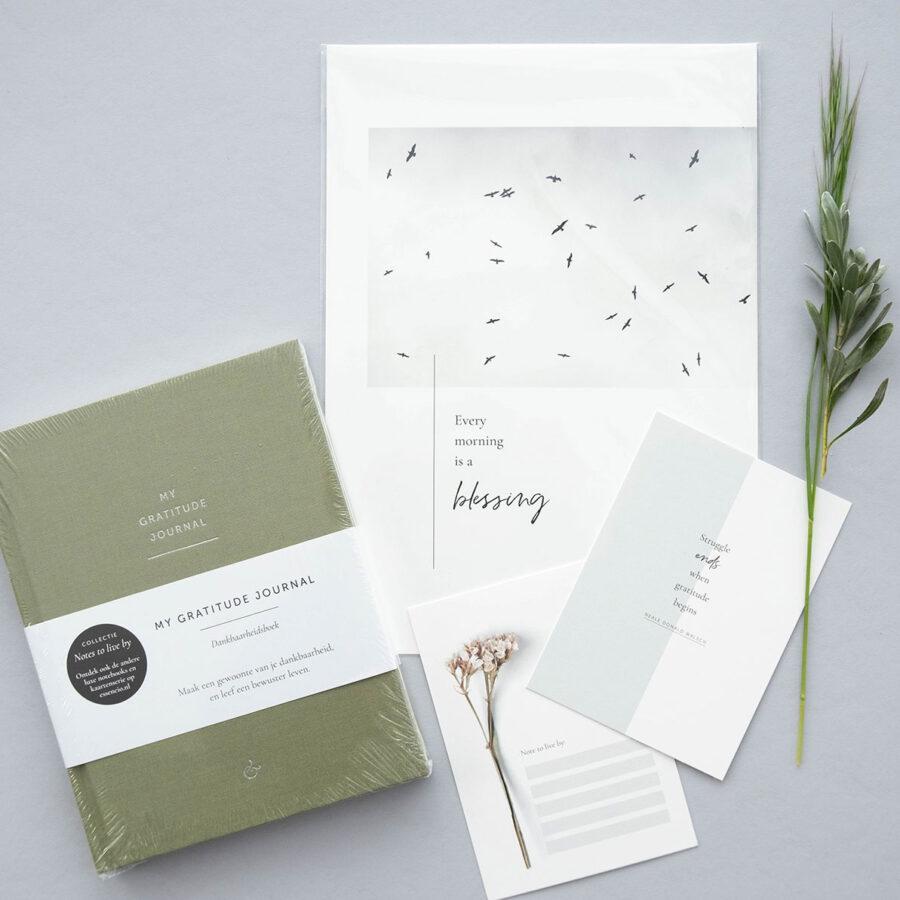 Essencio - cadeaupakket - Gratitude