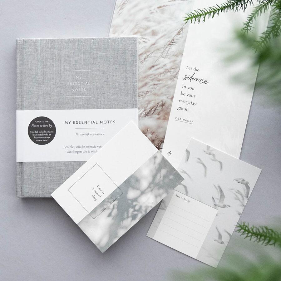 Essencio - cadeaupakket - Notes