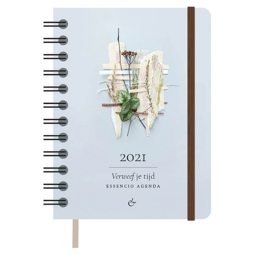 Cover Essencio Agenda 2021-klein