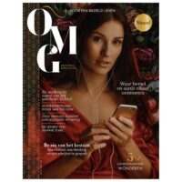 OMG Magazine - Editie 1- Nieuw magazine over spiritualiteit en zingeving - Voor een bezield leven - Cover